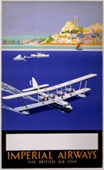 Vintage British Aviation Posters (10)