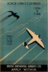 Vintage British Aviation Posters (3)