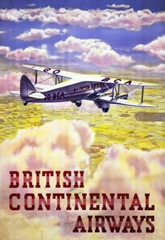 Vintage British Aviation Posters (5)