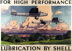 Vintage British Aviation Posters (7)