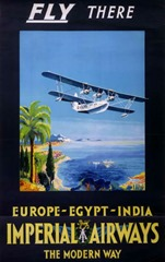 Vintage British Aviation Posters (9)
